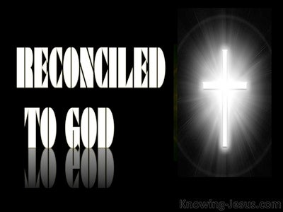 Reconciled To God (devotional) (white) - Romans 5-10